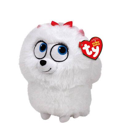 TY Beanie Baby Plush - GIDGET the Pomeranian (Secret Life of Pets) (6 inch)