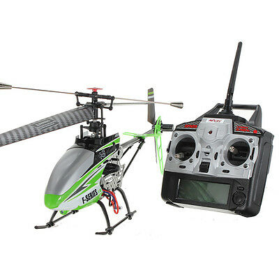 "New Design 28""MJX F45/F645 4CH 2.4Ghz Single Blade RC Helicopter MEMS GYRO Green on Rummage"