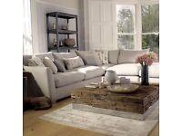 corner sofa and stool barker and stone house