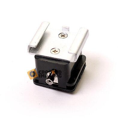 Kood Hot Shoe to PC Cable Sync Flash Socket Adapter - UK