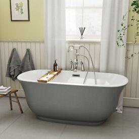 Freestanding Bath Grey