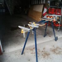 Portable Miter Saw Stand