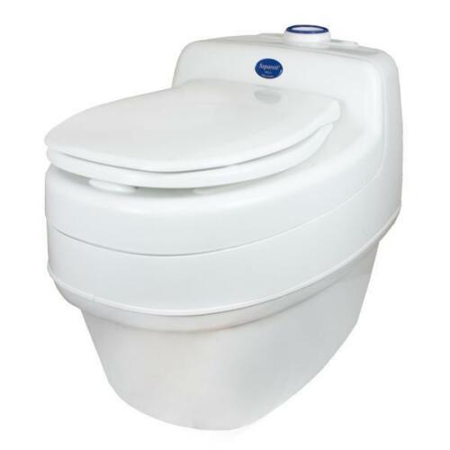 Separett Villa 9215 AC/DC Urine Diverting Off-Grid Composting Toilet 120V/12V