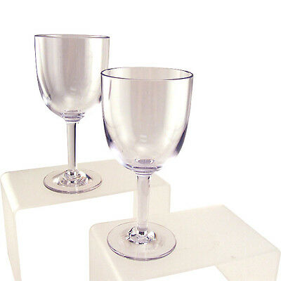 Cambro Aliso Polycarbonate Wine Glasses - 10.5 Oz - Case Of 24 - Commercial Bar