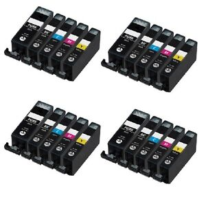 20 NEW Ink Cartridges chip installed for pgi-225 cli-226 Canon MG5220 MG5320