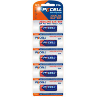 Alkaline Primary batteries 23A, 27A 12V 5PCS