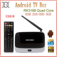 ANDROID TV BOX - CABLE TV CHANNELS AND MOVIES ONDEMAND FOR FREE!