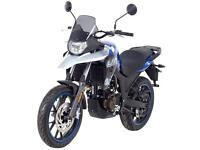 UM DSR ADVENTURE 125 - ADVENTURE MOTORCYCLE - LEARNER LEGAL