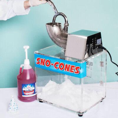 Carnival King Scm250 Snow Cone Ice Machine 120 V