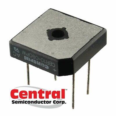 Central Semi Cbr10-080pw Bridge Rectifier 800v 10a Wire Leads Screw Mount