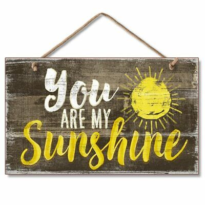 YOU ARE MY SUNSHINE Wood Hanging Sign 5.75