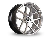 "19"" Staggered AVA Memphis on tyres for an E90, E91, E92, E93 BMW 3 Series, Vauxhall Insignia ETC"