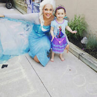 PRINCESS PARTY / FROZEN PARTY - SINGING ELSA, ANNA, OLAF
