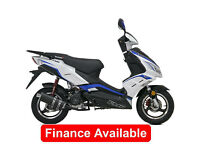 LEXMOTO FMR 50CC, Learner Legal Twist & Go Moped