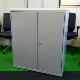 Bisley Silver Cupboard 1000mm Width 5 available