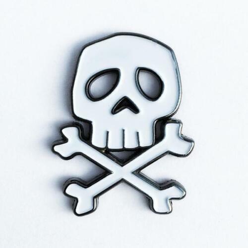 "CAPTAIN HARLOCK  1.25"" Metal Enamel Lapel Pin  misfits samhain danzig fiend club"