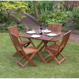 Garden Furniture Eastbourne 5 piece rattan dining garden furniture set | in eastbourne, east