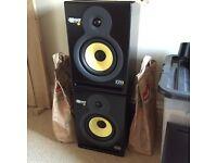 KRK RP6 (G1) active monitors / speakers plus stabds
