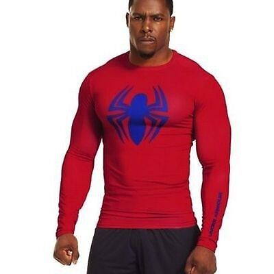 Under Armour Alter Ego Spiderman Compression Long Sleeve Shirt 1251591