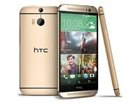 NEW Unlocked HTC ONE (M8) 16GB Quad-Core 4.7 Inches Android Smart Phone Amber Gold