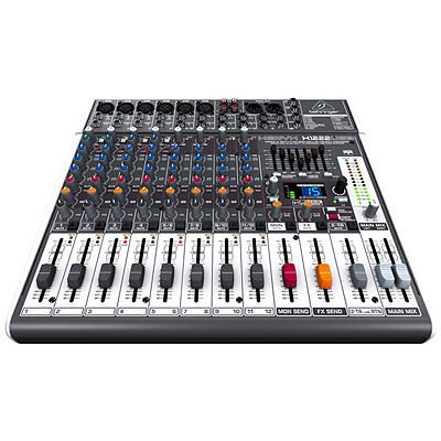 Behringer Xenyx X1222USB - 16 Input 2/2-Bus Mixer w/ USB Audio Interface on Rummage