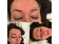 Ombre Semi Permanent Brows tattoo £150 include re touch after 4 weeks