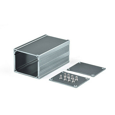 Aluminum Enclosure Electronic Diy Pcb Instrument Project Box Case40x50x80mm