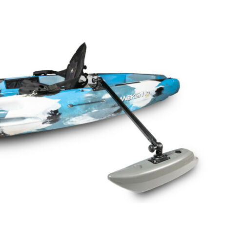 Kayak or Canoe Outriggers/Stabilizers. Paddle more confidently or stand to cast