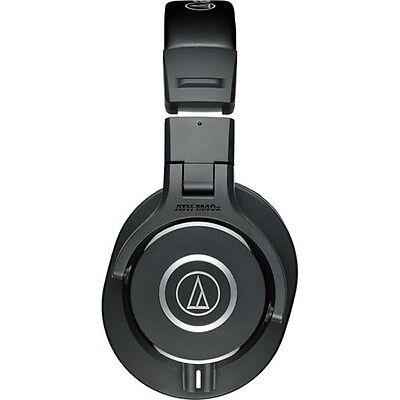 - Audio-Technica ATH-M40x Monitor Headphones 90-Degree Swiveling Earcups (Black)
