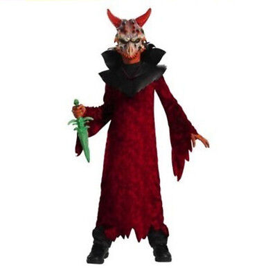 Disguise Boys Demonic Devil Light up Horns Halloween Costume Size small 5-7 NWT (Devil Costume For Boys)