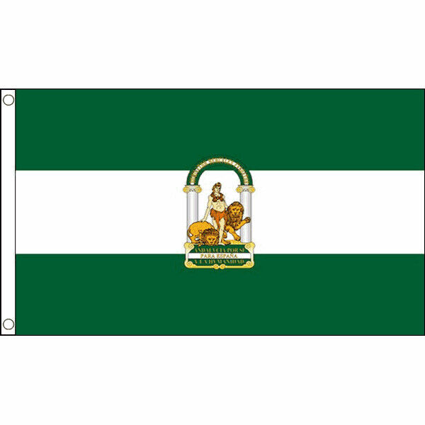 Andalusia Flag Large 5 x 3