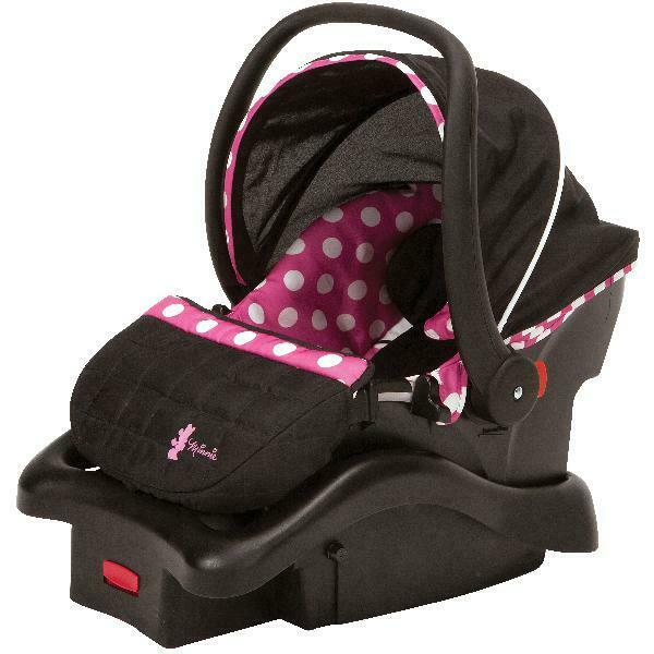 Infant Car Seat Newborn Baby Girl Vehicle Travel Chair Rear Facing Lightweight