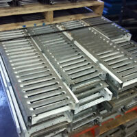Open Steel Plank for mezzanine floors and other use