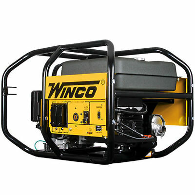 Winco Wc6000he - 5500 Watt Electric Start Portable Generator W Honda Gx Engine