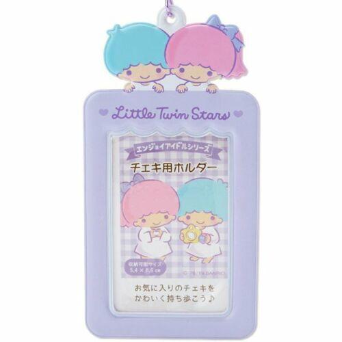 Little Twin Stars Photo Card Case Key Holder Sanrio Official Kawaii Keychain