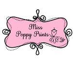 Miss Poppy Prints
