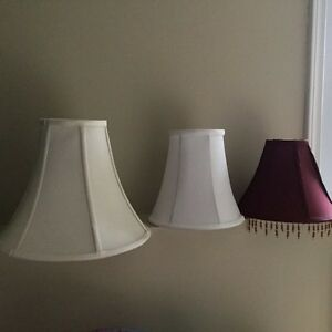 5 Replacement fabric lamp shades, various sizes St. John's Newfoundland image 2