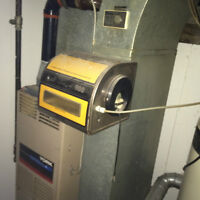 Furnace with humidifier - $100 OBO - house demo sale