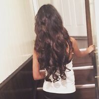 21 Inch Dark Brown Hair Extensions