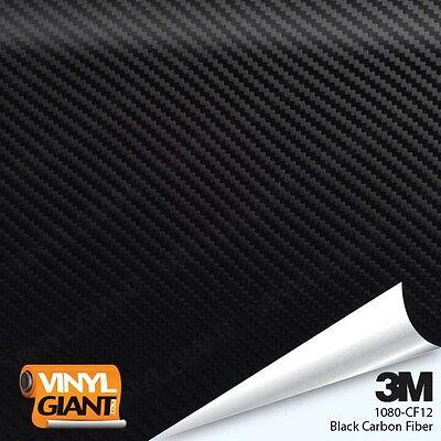3M 1080 CF12 BLACK CARBON FIBER Vinyl Vehicle Car Trim Wrap Film Sheet Roll ()