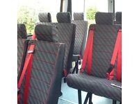 Minibus seats