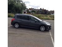 7 Seater Family Car Peugeot 308 sw 1.6 HDI