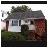3 bedroom house for rent August 1st.