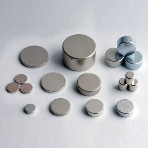 Lot de 10 100 aimants neodyme ndfeb rond puissant magnet for Desherbant puissant pour allees
