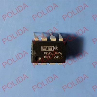 5pcs Op Amp Ic Burr-brownbbti Dip-8 Opa2134pa Opa2134pag4 100 Genuine And New
