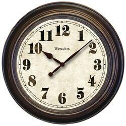 Westclox 24 Oversized Classic Clock  (32213)