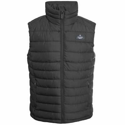 Superdry Black Double Zip Fuji Gilet - M5000023A - 12A RRP £70 XL & XXL