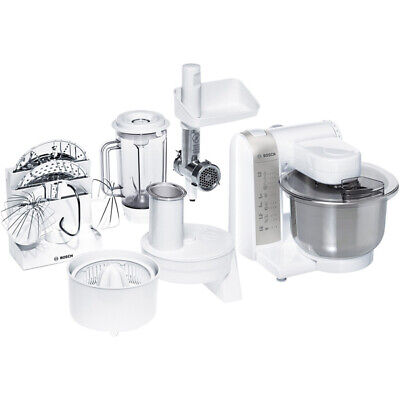 Bosch MUM4880 Küchenmaschine Rührmaschine Knetmaschine Teigkneter 3,9 L 600 Watt