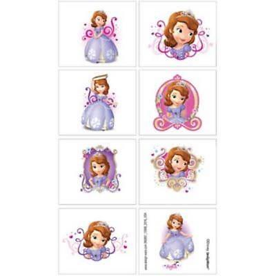 8 Disney Princess Sofia The First Tattoos Party Favor Teacher Supply](Sofia The First Party Supply)