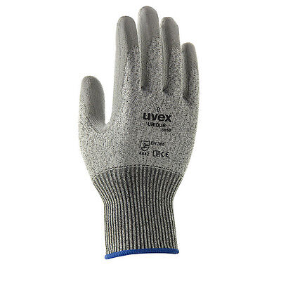 Uvex Unidur 6659 Hppe Pu Coated Cut 5 Resistant Glove Grey 60588 - All Sizes